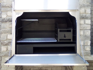Mildsteel insert with s/s facade